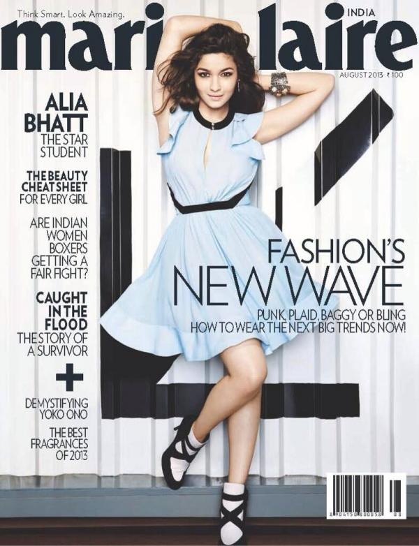 Alia-Bhatt-Hot-on-the-Cover-of-Marie-Claire-August-2013